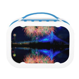 Fireworks Yubo Lunch Box