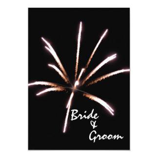 Fireworks Marriage / Elopement Announcement