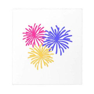 Fireworks Memo Pad