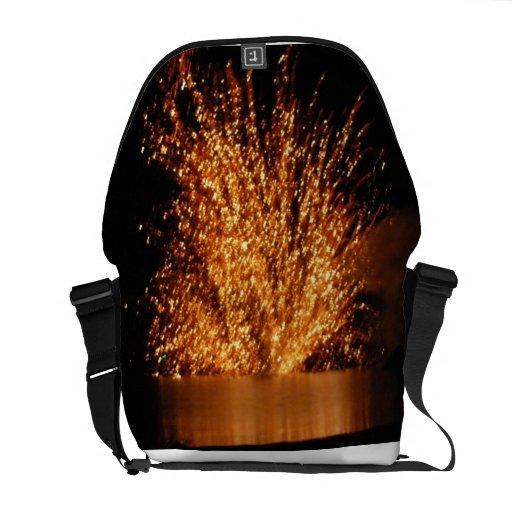 Fireworks Messenger Bag