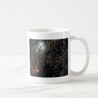 fireworks meteor splash big display coffee mug