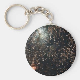 fireworks meteor splash big display keychain