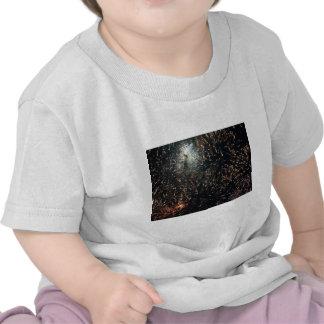 fireworks meteor splash big display shirt