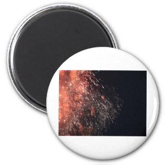 fireworks meteor splash debris magnet