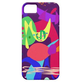 Fireworks Midnight Purple iPhone SE/5/5s Case