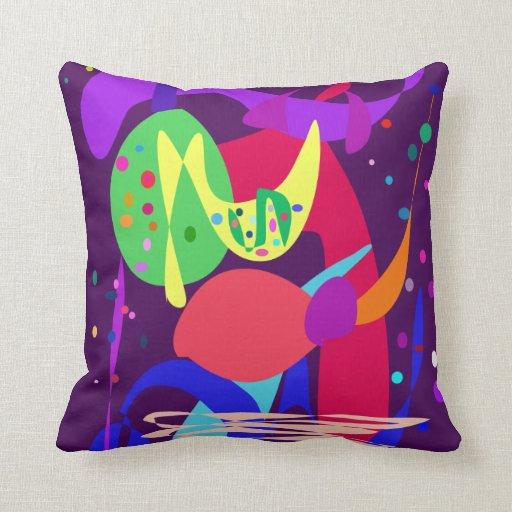 Fireworks Midnight Purple Pillows