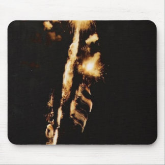 fireworks mouse pad