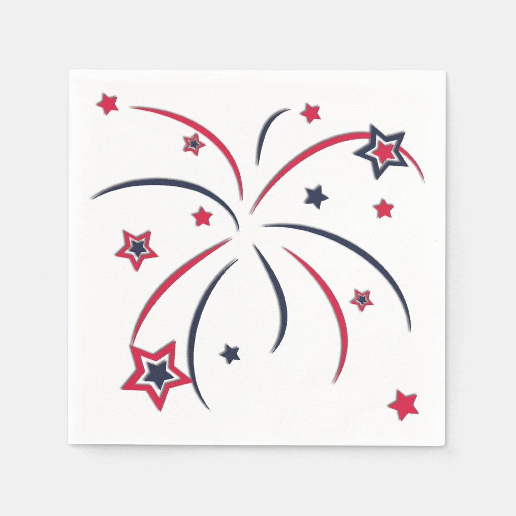 Fireworks Napkin