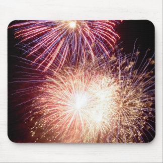 Fireworks New York Mouse Pad