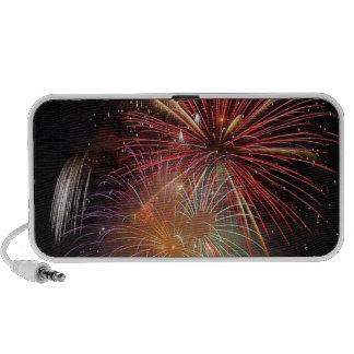 FIREWORKS Nighttime Colorful Explosions Travel Speaker