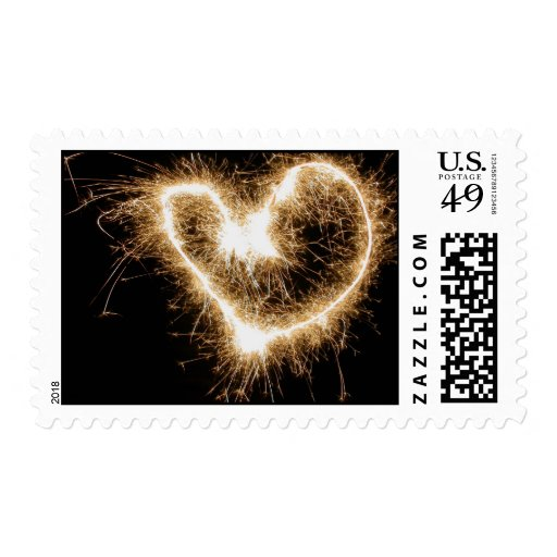 Fireworks of Love Stamp