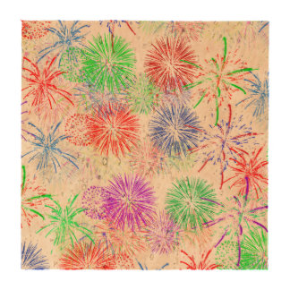 Fireworks on Blank (Add background color) Coasters