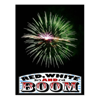 Fireworks on the Fourth Postcard