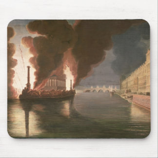 Fireworks on the Seine Mouse Pad