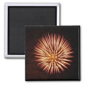 Fireworks Orange magnet