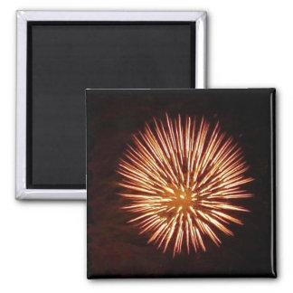 Fireworks Orange magnet