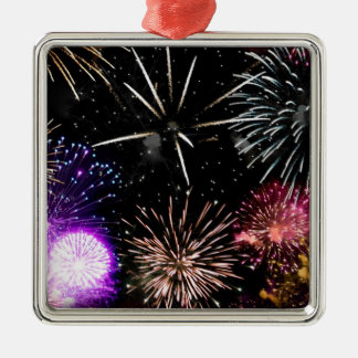 Fireworks Christmas Ornaments