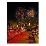 Fireworks, Ottawa, Ontario, Canada Postcards