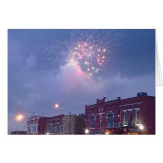 Fireworks Over Fort Smith, Arkansas 2 Card