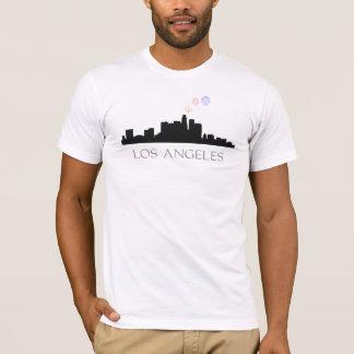 Fireworks Over Los Angeles Skyline T-shirts