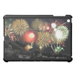 Fireworks over Parked Cars iPad Mini Case