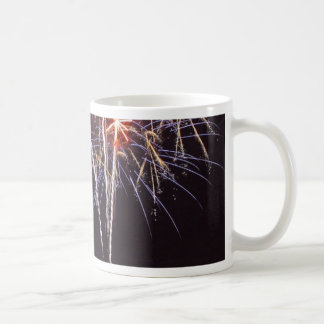 Fireworks Over San Diego Bay On The Fourth Of July Coffee Mug