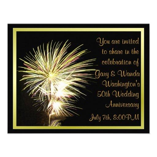 Fireworks Party Invitation