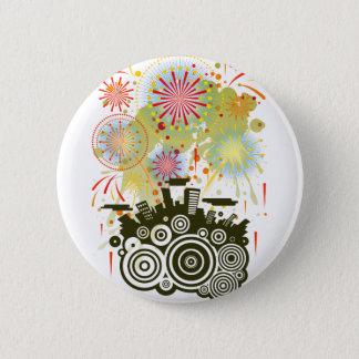 Fireworks Pinback Button