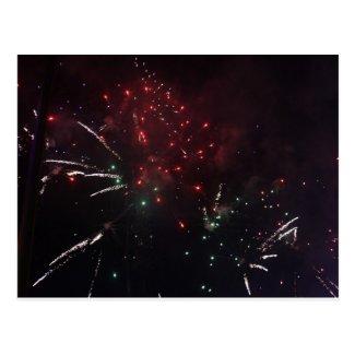 Fireworks Post card