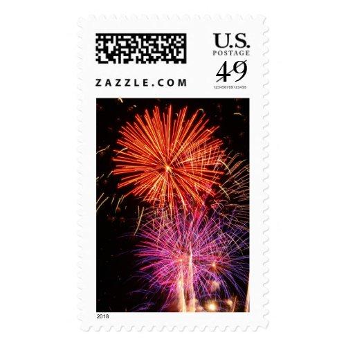 Fireworks Postage
