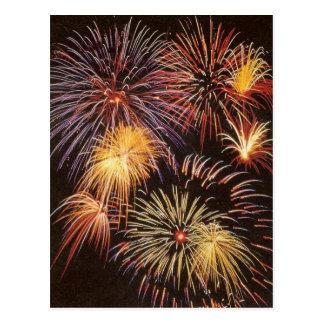 Fireworks - Postcard
