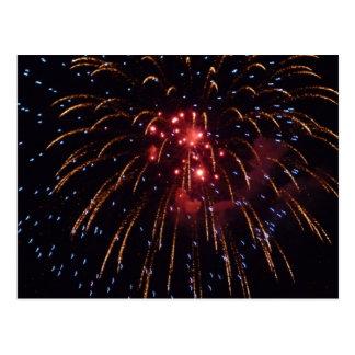 Fireworks Post Cards