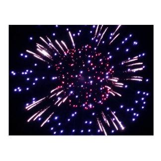 Fireworks Postcard 2