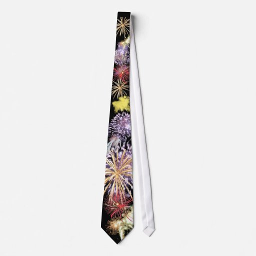 Fireworks Power Tie