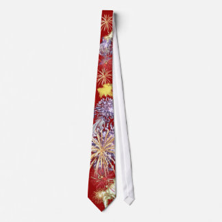 Fireworks Power Tie 4th of July Independence Day