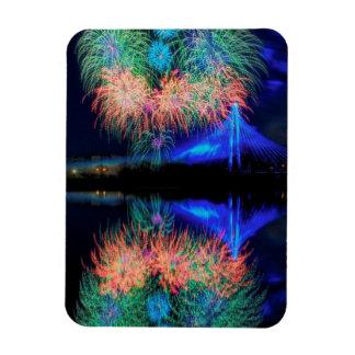 Fireworks Flexible Magnet