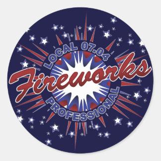 Fireworks Professional Sticker