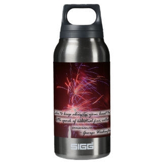 Fireworks Quote Insulated Water Bottle