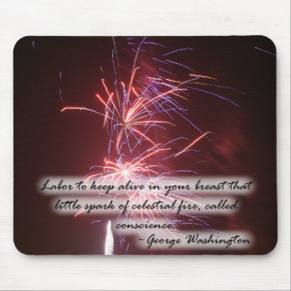 Fireworks Quote Mouse Pads