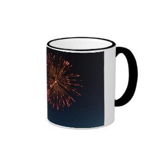 Fireworks Ringer Mug