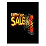 Fireworks Sale Post Card