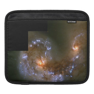 Fireworks Show in Collision of Antennae Galaxies iPad Sleeves