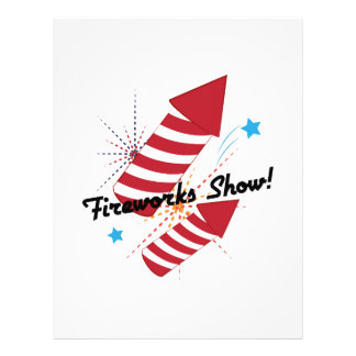 Fireworks Show! Personalized Letterhead