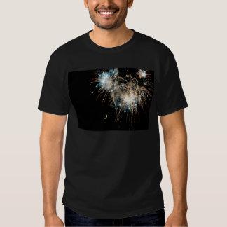 Fireworks Shower the Moon T-shirt