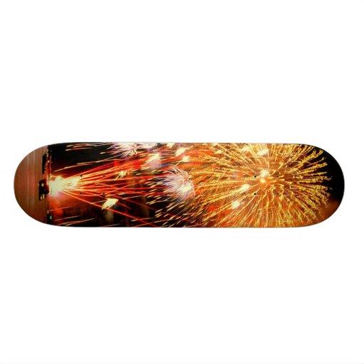 fireworks skateboard
