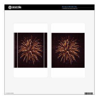 Fireworks Decals For Kindle Fire