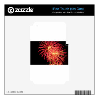 Fireworks iPod Touch 4G Decal