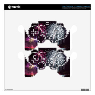 Fireworks Skin For PS3 Controller