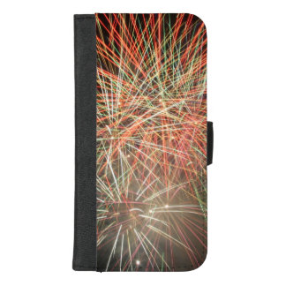 Fireworks Sky Love Welcome Home Destiny Destiny'S iPhone 8/7 Plus Wallet Case