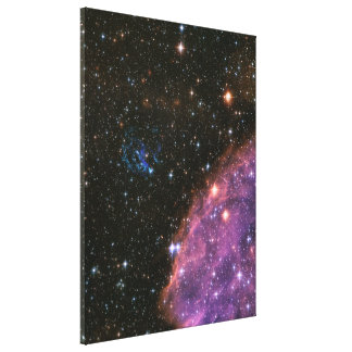 Fireworks Small Magellanic Cloud Canvas Print